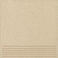 Плитка керамогранит Техногрес 400х400 (Светло-коричневый) ступени/рельеф