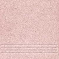 Плитка керамогранит Техногрес 400х400 (Светло-розовый) ступени/рельеф