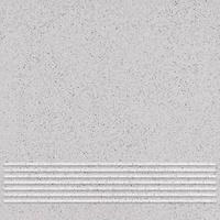 Плитка керамогранит Техногрес 400х400 (Светло-серый) ступени/рельеф