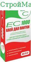 """Плиточный клей ЕС """"1000"""" 25 кг."""