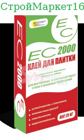 """Плиточный клей ЕС """"2000"""" 25 кг."""