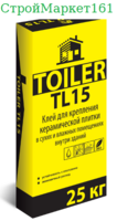 """Плиточный клей Toiler """"TL-15"""" 25 кг."""
