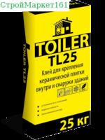 """Плиточный клей Toiler """"TL-25"""" 25 кг."""
