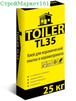 """Плиточный клей Toiler """"TL-35"""" 25 кг."""