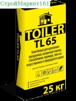 """Плиточный клей Toiler """"TL-65"""" 25 кг."""