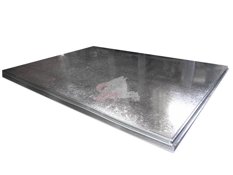 Плоский лист (оцинкованный) 0.45 мм
