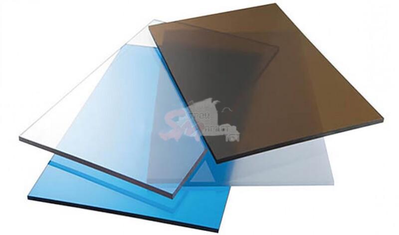 Поликарбонат монолитный Carboglass (5,0 мм).