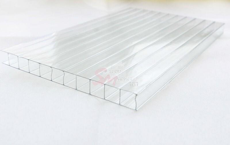 Поликарбонат сотовый Agrolux (3,7 мм).