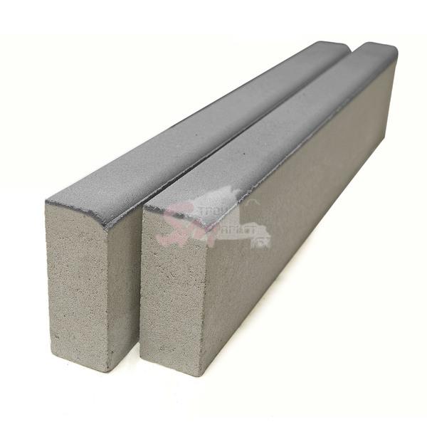 Поребрик 1000х200х80 (на сером цементе)