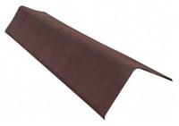 Щипцовый элемент для Ондулина коричневый 1000х200 мм.