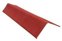 Щипцовый элемент для Ондулина красный 1000х200 мм.