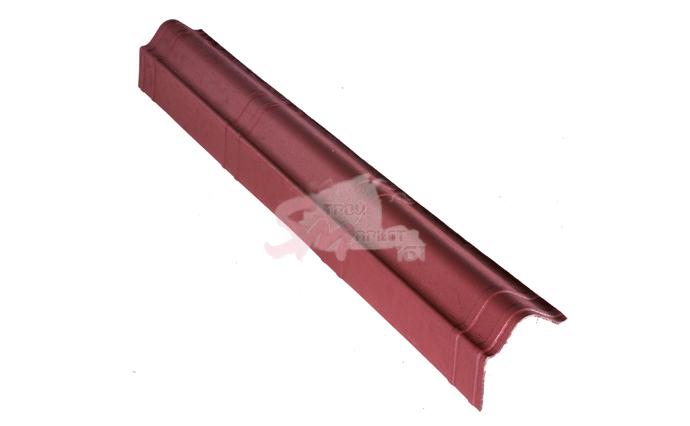 Щипцовый элемент для Ондувиллы красный 1040х105 мм.