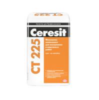 """Шпаклевка фасадная финишная Ceresit """"CT225 серая"""" 25 кг"""