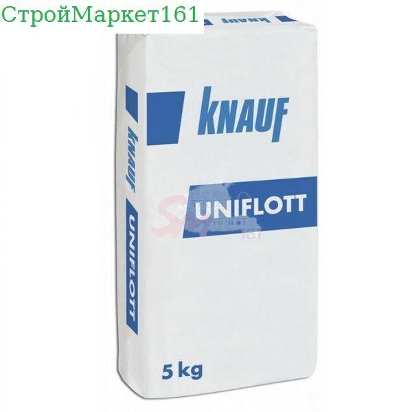 """Шпатлевка Knauf """"Унифлот влагостойкий"""" 5 кг."""