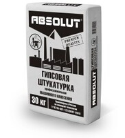 Штукатурка машинного нанесения Absolut 30 кг.