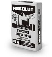 "Штукатурка гипсовая Absolut ""PREMIUM"" (М/Н) 30 кг"