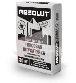 """Штукатурка профессиональная Absolut """"PREMIUM"""" (М/Н) 30 кг."""