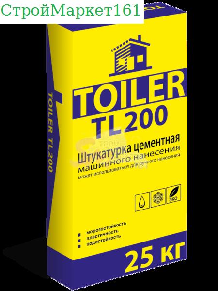 "Штукатурка Toiler ""TL-200"" 25 кг."