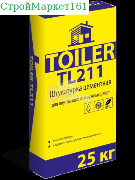 "Штукатурка Toiler ""TL-211"" 25 кг."