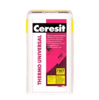 "Штукатурно-клеевая смесь Ceresit ""Thermo Universal"" 25 кг."