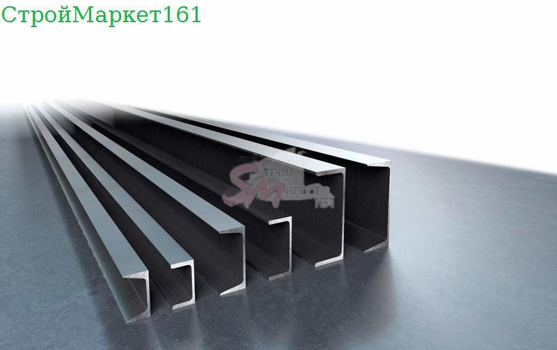 Швеллер гнутый 100x50x3 мм.