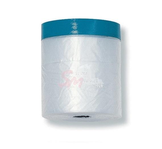 Защитная пленка с тканевой клеящей лентой (устойчива к УФ излучению) 2700х16000 мм